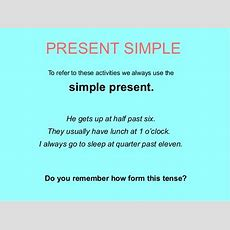 Present Simple Power Point Paqui Unir Ii
