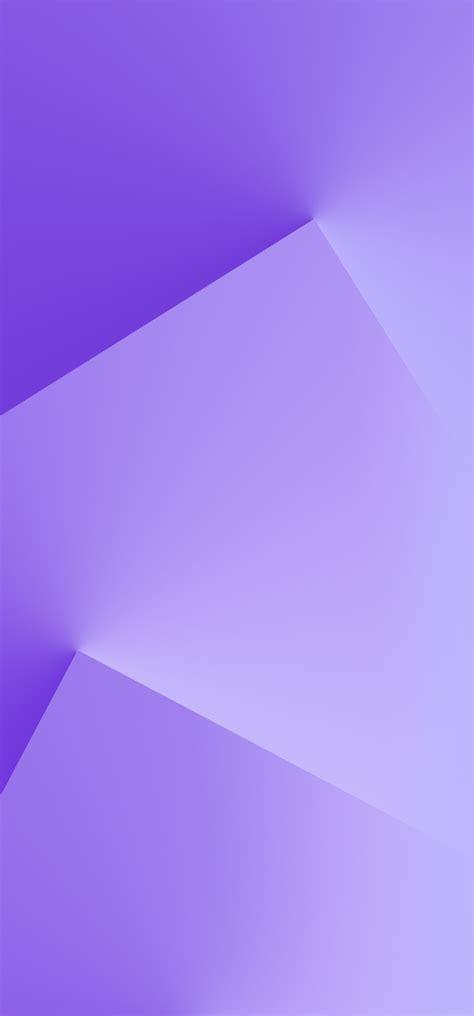 Vivo Nex Purple Shape Mobile Stock Wallpaper 11