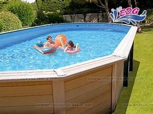 Piscine Hors Sol Composite : kit piscine hors sol bois composite davao premium ovale 7 ~ Dode.kayakingforconservation.com Idées de Décoration