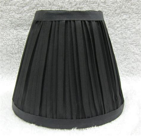 new black pleated mini chandelier l shade