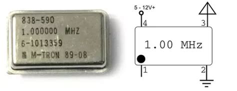 How Replace The Mhz Crystal Oscillator Pin From