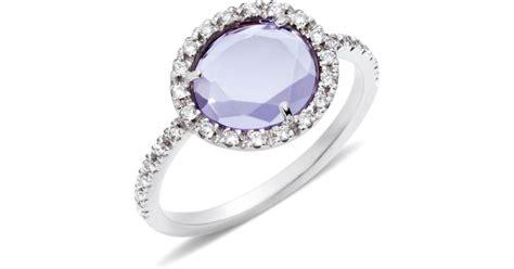 colpo di fulmine pomellato pomellato ring colpo di fulmine in purple lyst