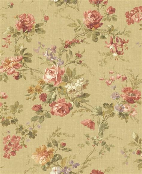 country cottage wallpaper wallpaper designer country cottage floral roses and