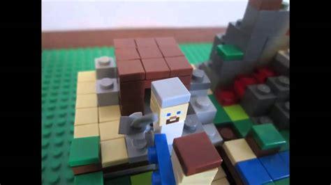 Armour Stand Minecraft by Lego Minecraft Steve Vs The Herobrine Youtube