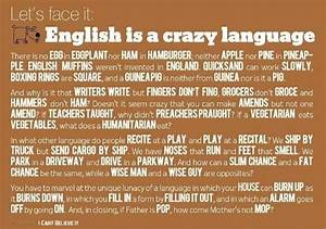 Humor - English is a crazy language | Inspirational Quotes ...
