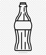 Cola Bottle Coca Coloring Vector Soda Drawing Drink Transparent Clipart Vhv Clipartkey sketch template