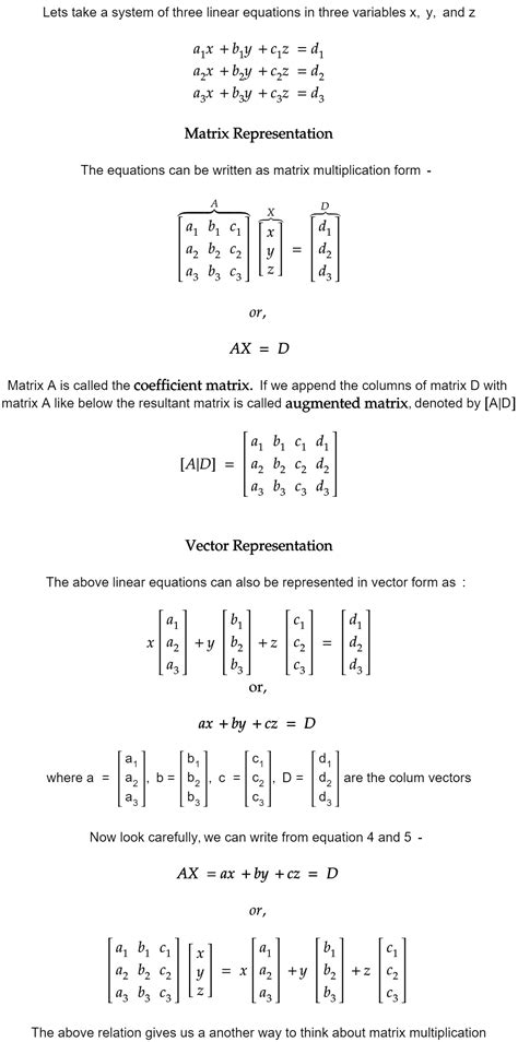 Linear Algebra for Machine Learning Part 3 — System of