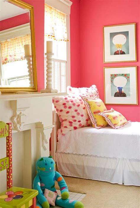 childrens bedroom colors big girl bedroom ideas big girl bedrooms coral walls 11094 | 0277b2c0fbe68d03290ead68dee5ffc4