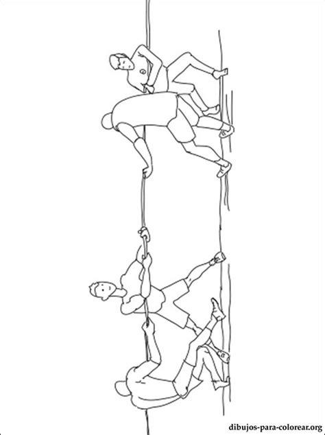 dibujo de juego de la soga  colorear dibujos