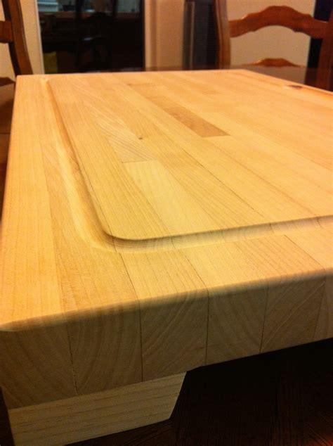 ana white huge butcher block cutting board