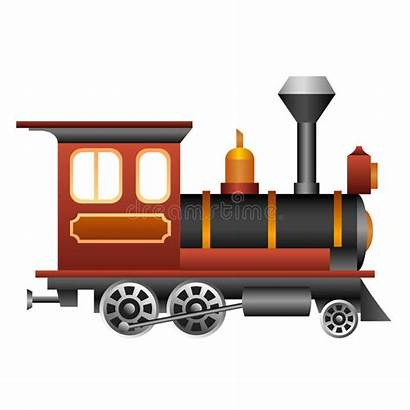 Train Clipart Treno Steam Antique Gammalt Drev
