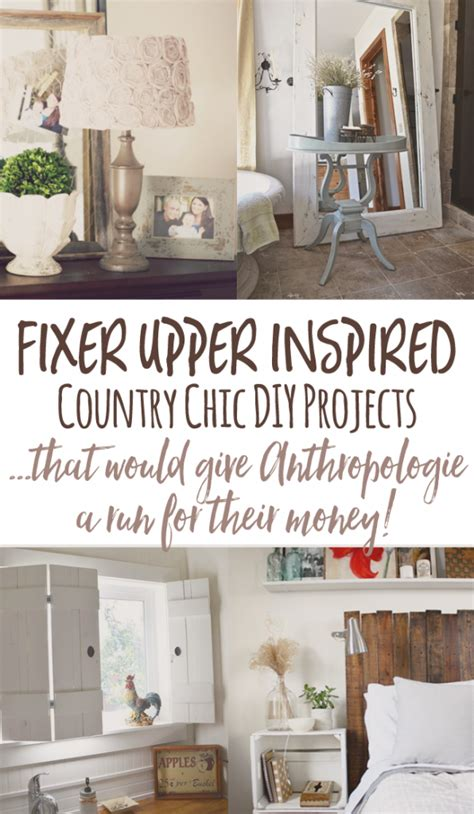 Diy Home Decor Blogs - cheap and chic diy country decor a l 225 anthropologie