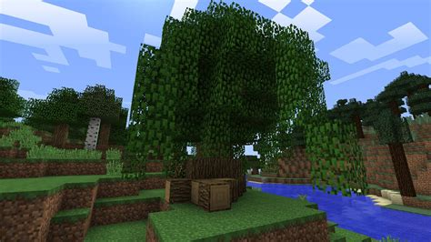 build  custom tree  minecraft  tutorial