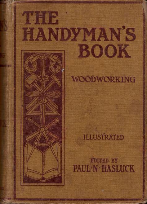 handymans bookwoodworking hasluck  ontario