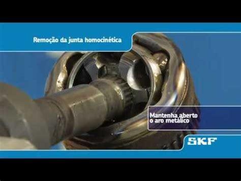skf instalacao duma nova junta homocinetica vkja