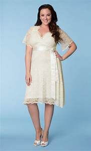 Elegant plus size short lace wedding dresses sang maestro for Plus size short lace wedding dresses