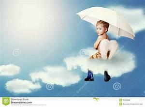 Engel Auf Wolke Schlafend : wenig engel der auf der wolke sitzt stockfoto bild von niederschlag sch n 25492838 ~ Bigdaddyawards.com Haus und Dekorationen