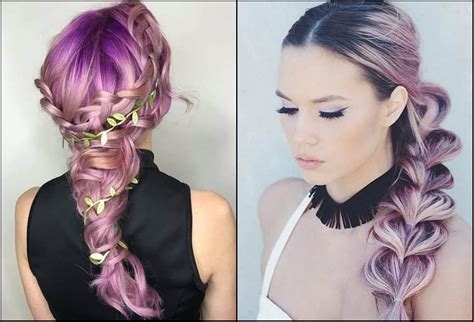 Awesome Crayon Color Braids Hairstyles Do Not Miss Out