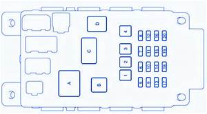 Toyota Prado Diesel 2003 Fuse Box  Block Circuit Breaker Diagram