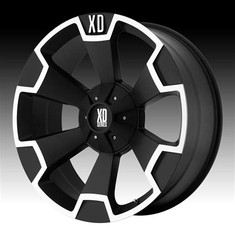 Kmc Boat Trailer Wheels by Xd Wheels Kmc Xd Series Xd803 Thump Matte Black Machined
