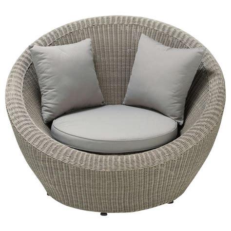 fauteuil de jardin en r 233 sine tress 233 e grise cape town