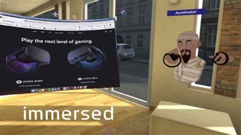 immersed vr telepresence app  offer virtual coworking