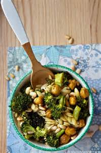 Orzo Pasta Salad with Broccoli