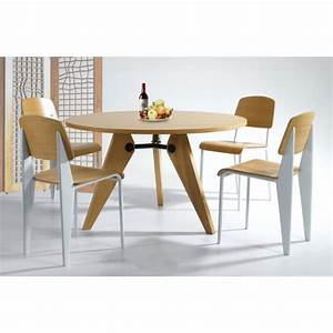 Table Jean Prouvé : style gueridon dining table round cult uk ~ Melissatoandfro.com Idées de Décoration