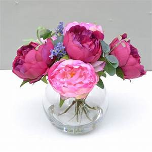 Vases Design Ideas: Artificial Flower Arrangements You