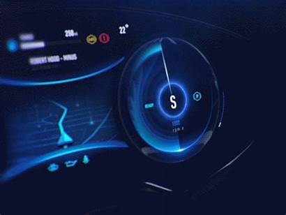 Ui Electric Dashboard Fantasy Vehicle Ux Cluster