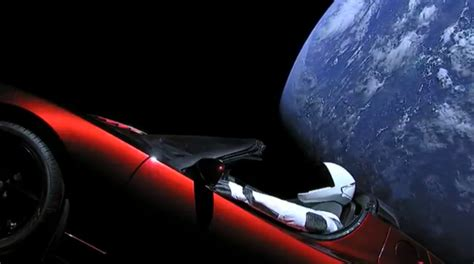 Spacex  Where Are Cameras Mounted On The 'starman