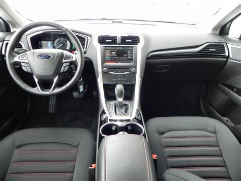 ford fusion interior review aaron  autos