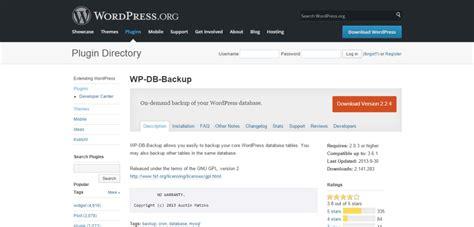 8+ Best Wordpress Backup Plugins (free And Paid)