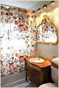 Bohemian, Bathroom, Decorating, Ideas, 023, U2014, Design