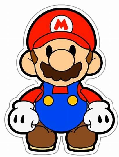 Mario Clipart Bros Paper Clip Printable Google