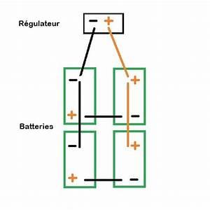 Batterie En Serie : cablage apr s r gulateur de 4 batteries en s rie parall le maxi 700ah energie solaire ~ Medecine-chirurgie-esthetiques.com Avis de Voitures