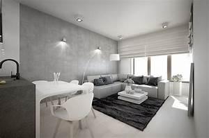 Wandgestaltung Wohnzimmer Erdtöne : wandgestaltung im wohnzimmer 85 ideen und beispiele ~ Markanthonyermac.com Haus und Dekorationen