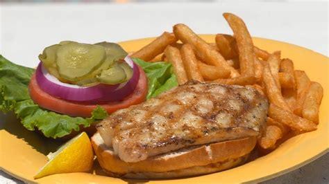 grilled grouper sandwich