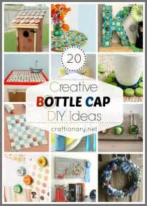 Bottle Cap Craft Ideas