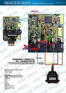 Vvdi Prog Read Benz Eis W203 1j35d  Xj74y Mc69hc08az60