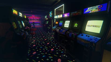 39 newretroarcade 39 is a brilliantly detailed 80 39 s arcade that will take you on a vr nostalgia trip