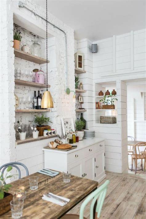 cuisine bois et blanche la cuisine blanche et bois en 102 photos inspirantes