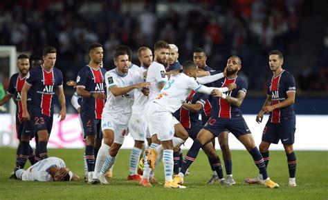 PSG VS Marsella: La pelea continuó por redes sociales ...