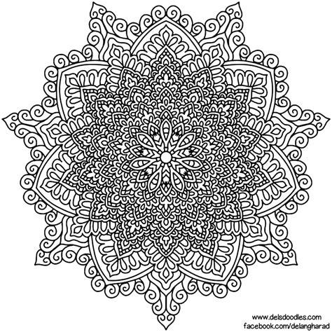 Coloring Krita by Krita Mandala 56 By Welshpixie Coloring Dels Doodles