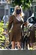 Pregnant EMMA ROBERTS at Starbucks in Los Feliz 09/19/2020 ...