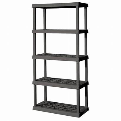 Shelf Shelving Unit Plastic Garage Sterilite Shelves