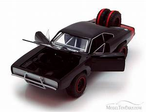 Dom39s 1970 Dodge Charger RT Hard Top BLACK Jada Toys
