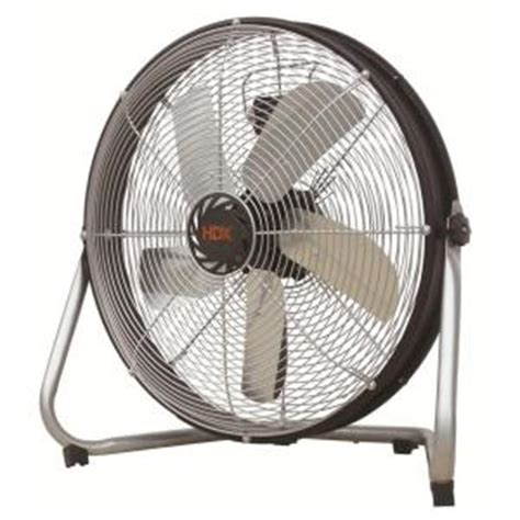 home depot floor fans 20 in high velocity floor fan with shroud hdf50 sp the