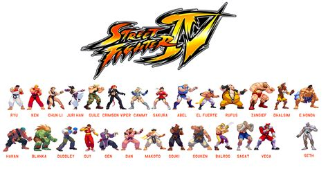 Can You See These Street Fighter Characters Super
