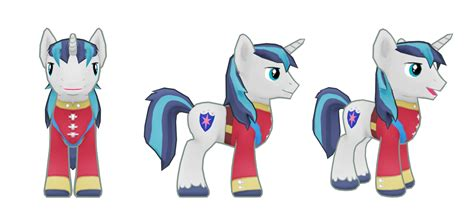 My Little Pony Mobile Game Shining Armor Model.png